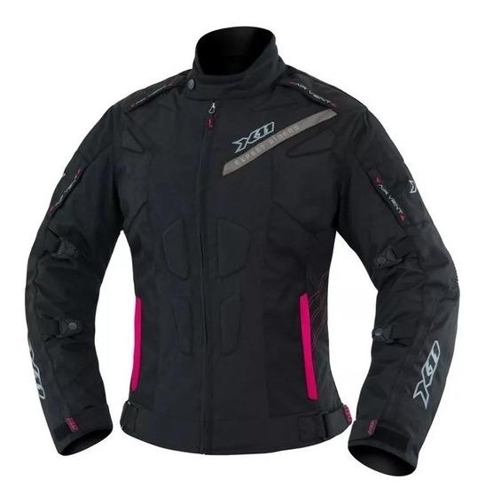 Jaqueta Moto Feminina X11 Com Proteção