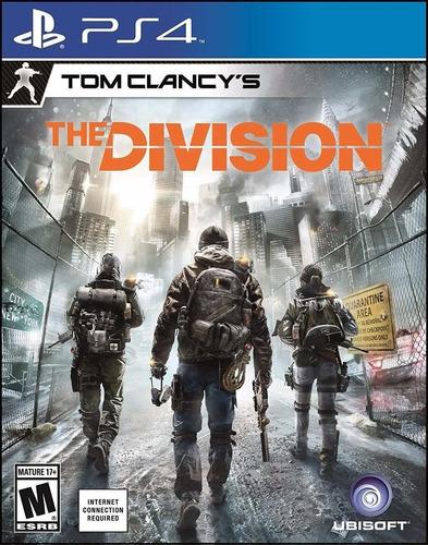 Imagen 1 de 3 de Tom Clancy's The Division Juego Ps4 Original + Garantía