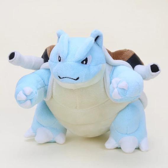 Pokemon Pelúcia Blastoise - 15cm
