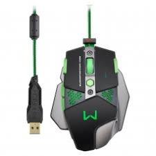 Mouse Gamer Warrior 4000dpi Pt/vd Mo249 Multilaser