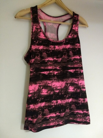 Musculosa Mujer H & M Sport Talle G