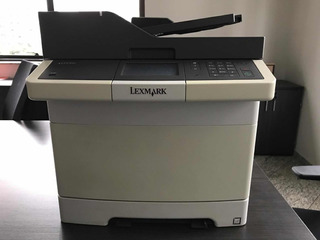 Impressora Multifuncional Colorida Lexmark C410 Funcionando