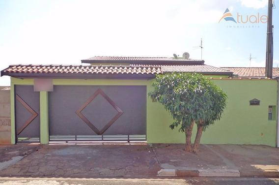 Casa Com 3 Dormitórios À Venda, 179 M² Por R$ 590.000,00 - Betel - Paulínia/sp - Ca3985