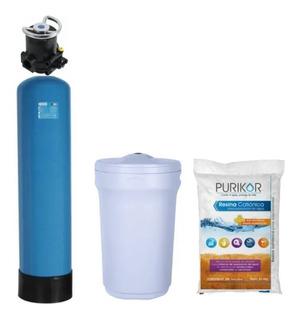 Filtro Suavizador De Agua 9 X 48 Elimina Dureza Y Sarro