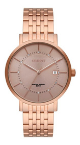 Relógio Orient Feminino Frss1041 R1rx Rose Analogico Oferta
