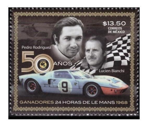 2018 50 Años Ganadores 24 Horas De Le Mans Mnh Autos Carrera