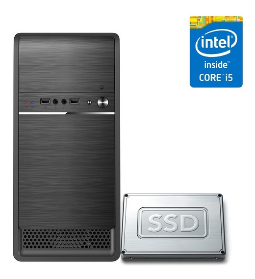 Computador Desktop Pc Cpu Intel Core I5 16gb Ssd 240gb Hdmi