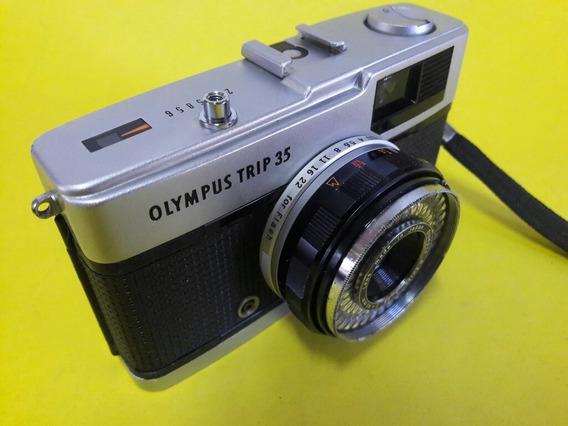 Câmera Fotográfica Olympus Trip 35 Analógica
