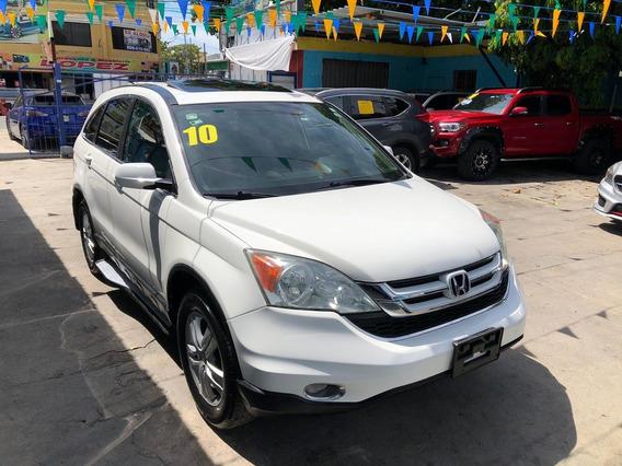 Honda Cr-v Exl Blanca Clin Carf