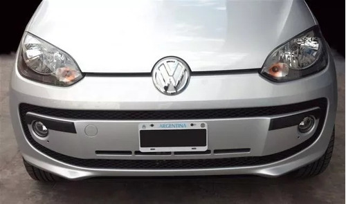 Vw Up Protectores De Paragolpes Negros Rapinese Xxt