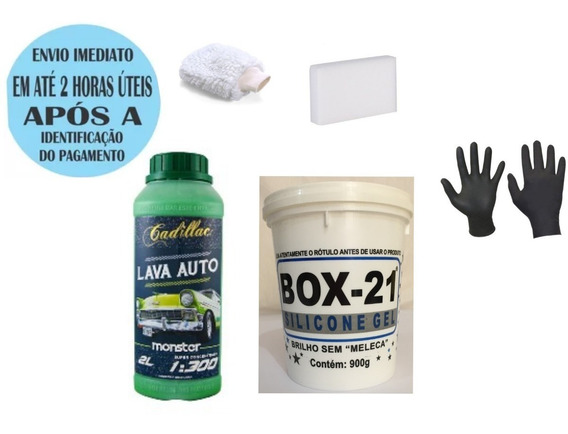 Lava Auto Monster Cadillac + Silicone Box 21 + Aplicadores