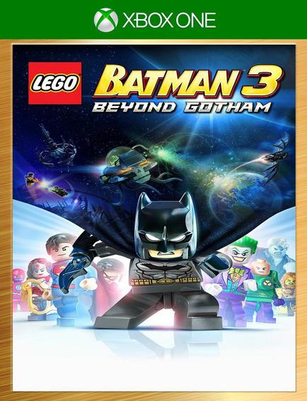 Lego Batman 3 Além De Gotham Xbox Deluxo - Original (25 Díg)