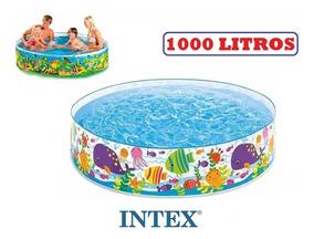 Piscina Infantil Intex 1000 Litros Redonda Promoção Verão
