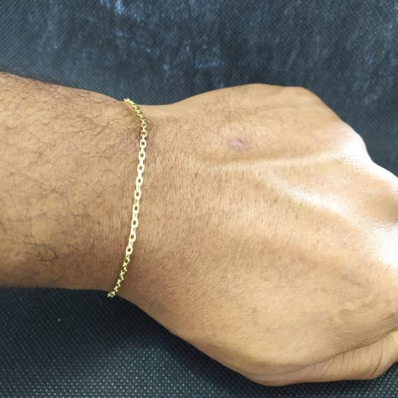 Pulseira Cartier 2mm Masculino Qmaximo Banhado A Ouro Oferta