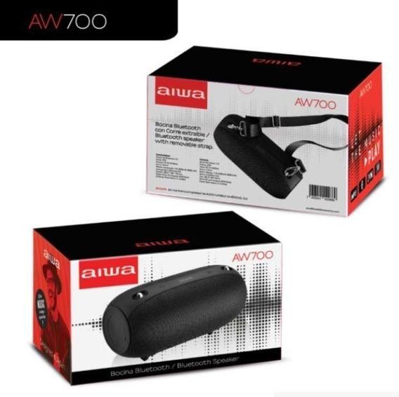 Caixa De Som Portatil Bluetooth Aiwa Aw700 25wrms