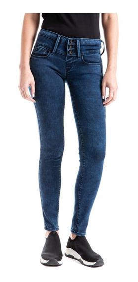 Jeans Denizen® Mujer Azul Jegging Marino Echo Den