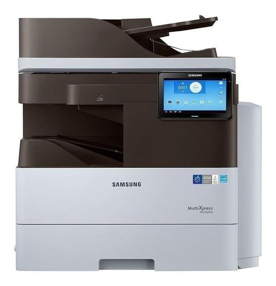 Impressora multifuncional Samsung MultiXpress SL-M5360RX 110V - 127V branca e preta