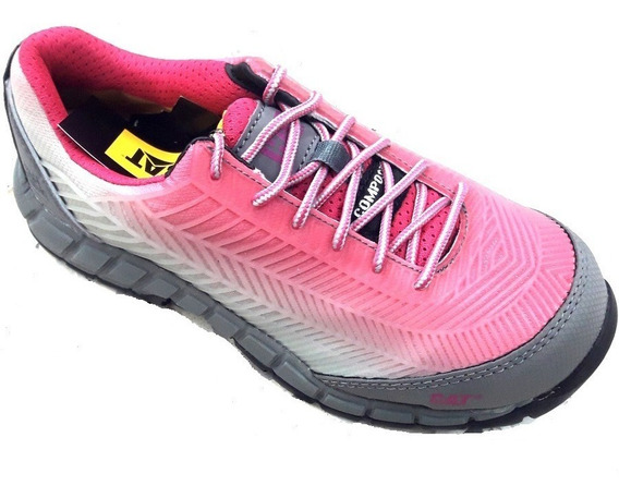 Mujer Caterpillar Zapatos Seguridad Array Punta Dielectricos