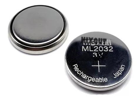 Baterias Originais Ml2032 Recarregaveis 2 Unidades