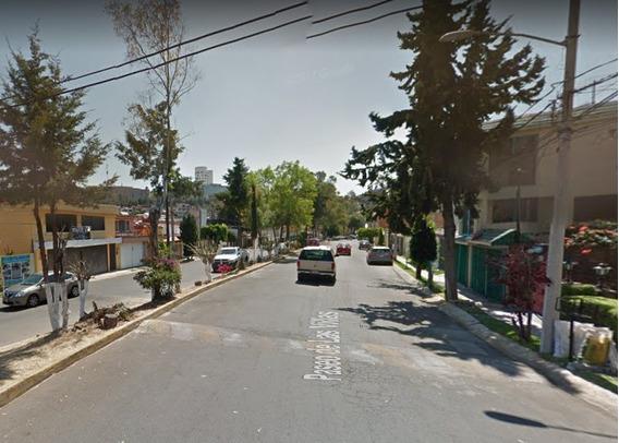 Bonita Y Amplia Casa En Remate Jacarandas, Tlalnepantla