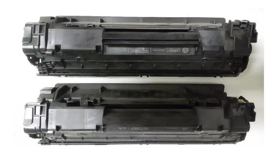 2 Cartucho Impressora Hp Laserjet Para Recarregar