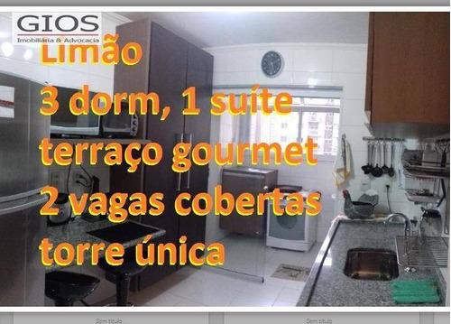 Apartamento À Venda, 100 M² Por R$ 710.000,00 - Limão (zona Norte) - São Paulo/sp - Ap0155