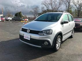 Volkswagen Suran Cross Highline 1.6 2015 Gris Ouq #expoauto