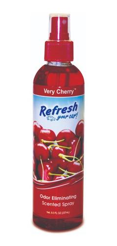 Imagen 1 de 2 de Perfume Fragancia Para Auto Refresh- Spray Pump Very Cherry