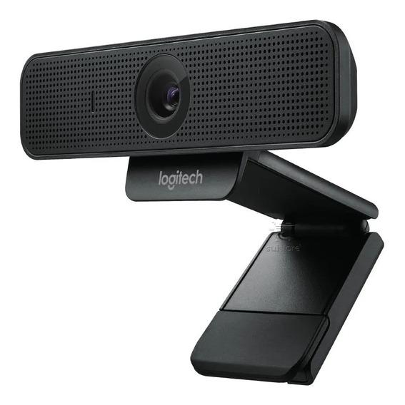 Webcam Logitech C925e Profissional Fullhd 1080p Conexão Usb