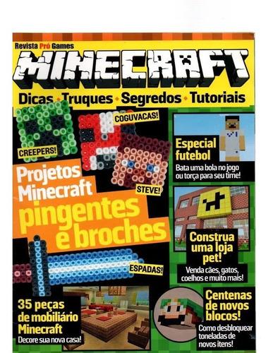 Imagem 1 de 1 de Revista Pró Games Minecraft Dicas Truques Pingentes E Broche