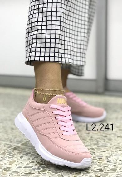 Tenis Dama Zapatillas Nuevo Modelo Estilo
