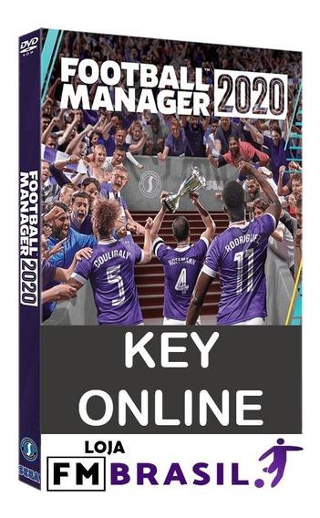 Football Manager 2020 Pc Steam Key Ativação + Fm Touch 2020