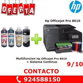 Multifuncion Hp Officejet Pro 8610 + Sistema Continuo