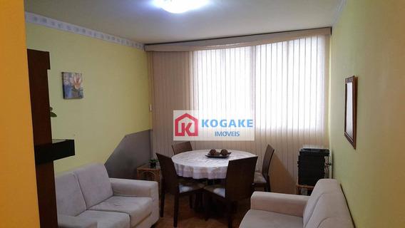 Apartamento Com 2 Dormitórios À Venda, 54 M² Por R$ 270.000,00 - Vila Adyana - São José Dos Campos/sp - Ap4884
