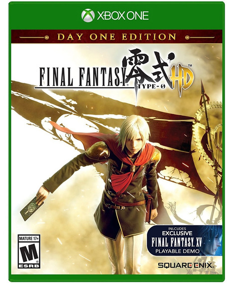 Jogo Final Fantasy Type-0 Hd Xbox One Midia Fisica Nacional