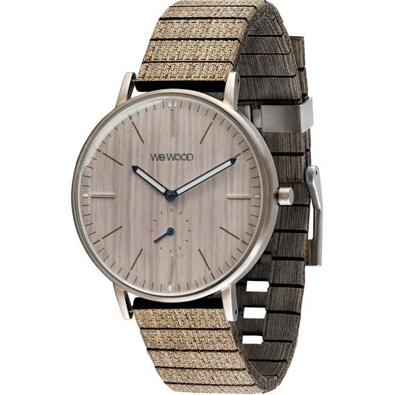Relógio De Madeira Wewood Albacore - Wwalb01