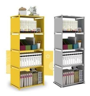 Estante Repisa Armable Libro Librero 4 Pisos 50x30x144cm