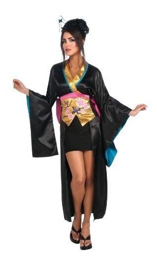 Traje De Rubíes Kimono De Geisha Con Falda De Corsé Y Traj