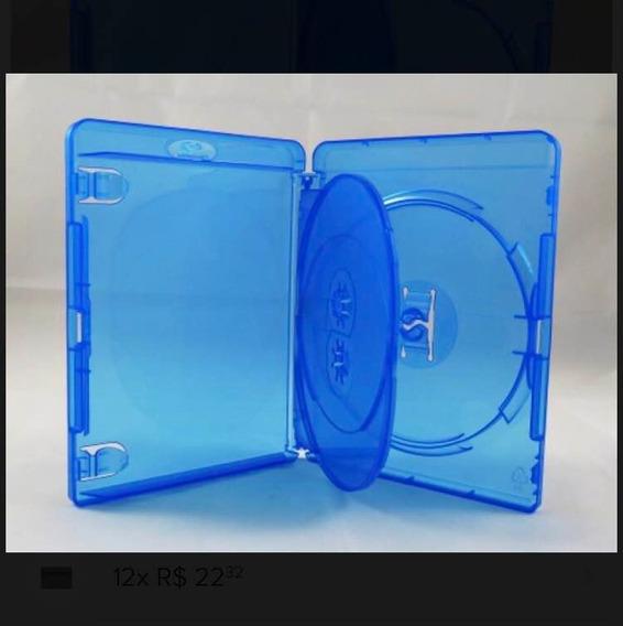 Estojo Bdr Bluray Triplo Azul