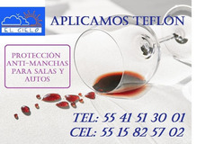 Aplicación De Teflón Para Salas, Vestiduras, Alfombras, Etc