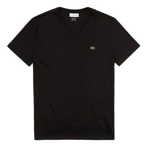 Remera Hombre Lacoste T-shirt Basica Pima Escote V