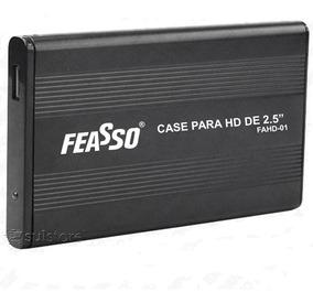 Case Gaveta P/ Hd 2,5 Notebook Sata Usb 2.0 Feasso Fahd-01
