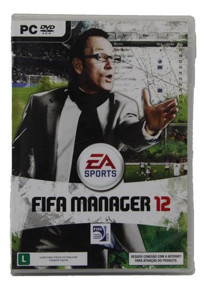 Jogo Fifa Manager 12