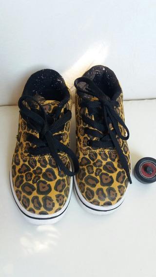 Zapatillas Con Rueditas Heelys