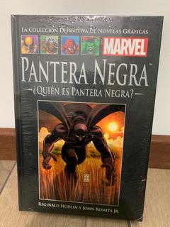 Libro Marvel Salvat Cómics Pantera Negra ¿quién Es Pantera N