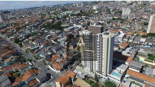 Imagem 1 de 24 de Amplo Apartamento De 53m² À Venda No Condomínio Uno. - Ap3316