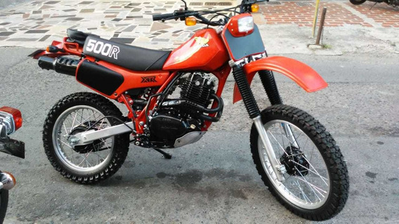 Honda Xl 500 R Modelo 1982