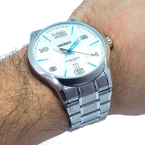 Relógio Masculino Orient Mbss1318 S2sx Aço Inoxidável Nf-e