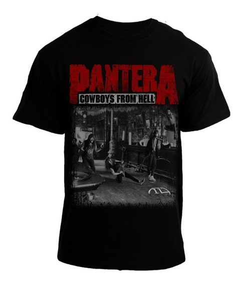 Playera Pantera Cowboys From Hell