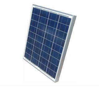 Kit Controlador 30ah + Placa Energia Solar Fotovoltaica 50w